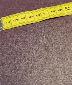 Similicuir aubergine doublé à l'arrière (1.20€/10cm)