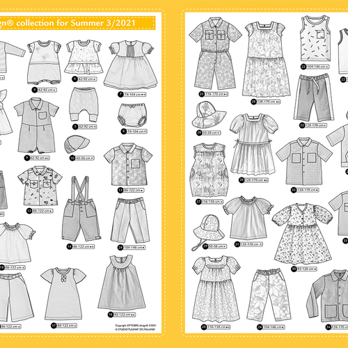 Magazine Ottobre Design enfants été 3/2021