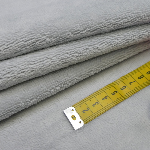Eponge de Bambou coton gris perlé (1.39€/10cm)