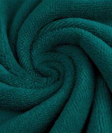 Coupon Eponge de Bambou coton turquoise 95 cm