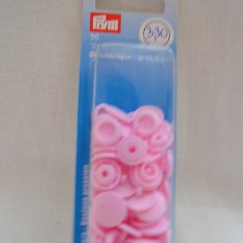 Pression Prym Color Snaps 12.4mm rose