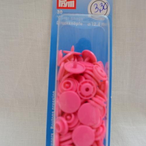 Pression Prym Color Snaps 12.4mm fuchsia