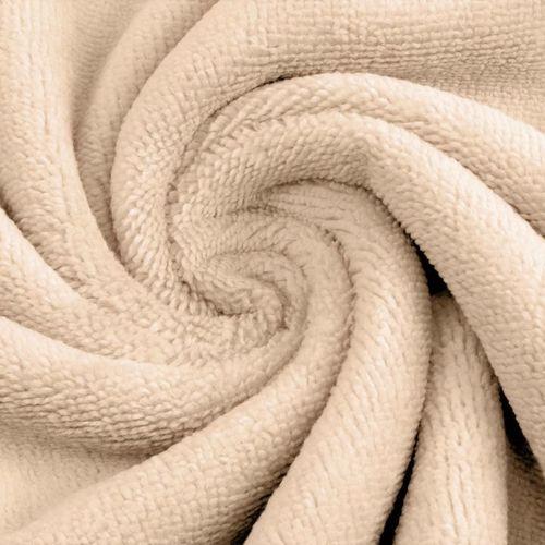 Eponge de Bambou coton beige ( 1.39€/10cm)