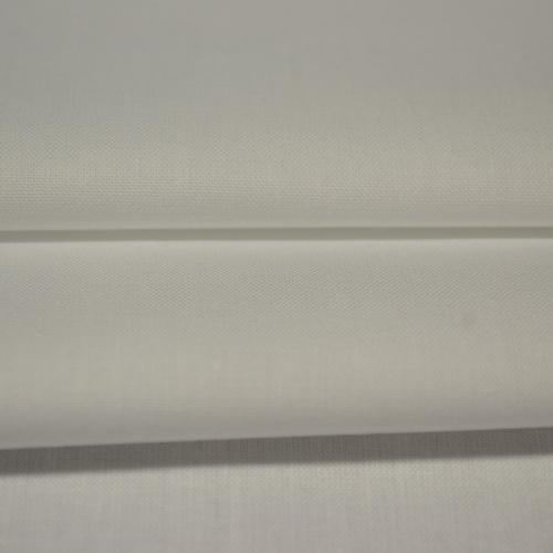 Popeline de coton blanc 150 gr (0.8€/10cm)