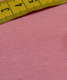 Jersey de Modal Corail d'Hilco (1.45€/10cm)