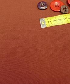 Tissu sergé gabardine Terracotta A la ville by Bittoun (10cm/2.34€)