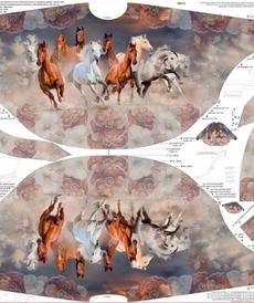 "Panneau Stenzo Poncho enfants ""chevaux sauvages"""