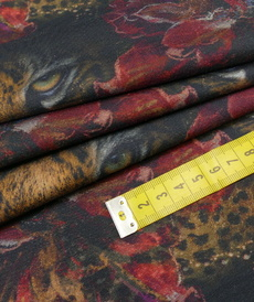 "Jersey sweat bouclettes ""passion sauvage"" Stenzo (10cm/1.95€)"
