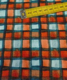 Jersey sweat bouclettes à carreaux by Stenzo (10cm/1.95€)