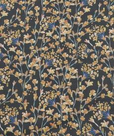 "Tissu fluide viscose ""plumetti flowers"" (10cm/2.5€)"