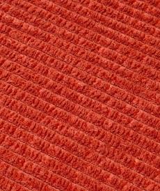Tissu velours fines côtes brique A la Ville by Bittoun ( 10cm/1.79€)
