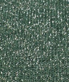 Maille tricotée brillante vert foncé ( 10cm/1.39€)