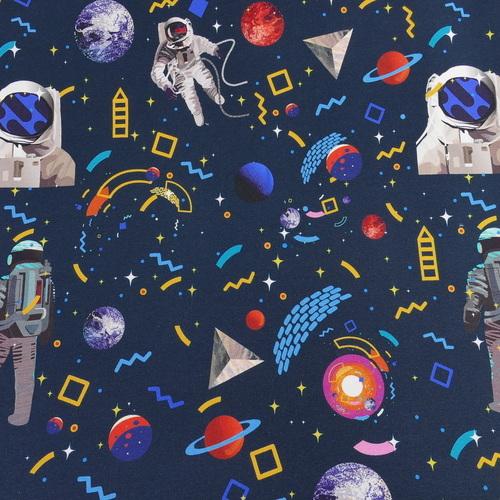 "Jersey sweat bouclettes ""espace"" by Stenzo (10cm/1.95€)"