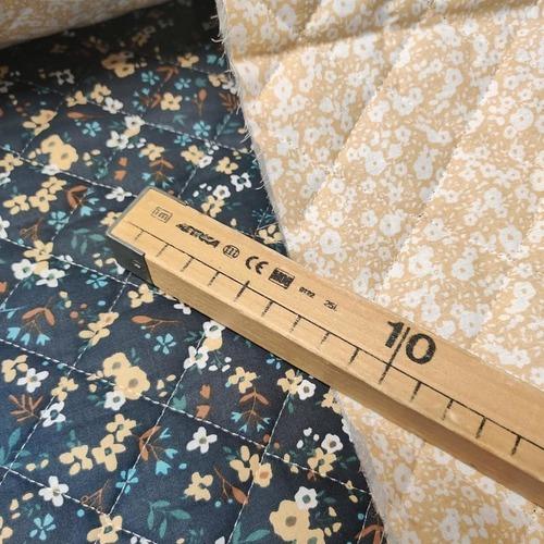 Tissu coton matelassé ELONA/HILALI (10cm/2.15€)