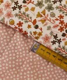Tissu coton matelassé MILLY/LIPELO (10cm/2.15€)