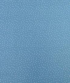 Jersey de coton bleu jeans à pois by Stenzo (10cm/1.7€)