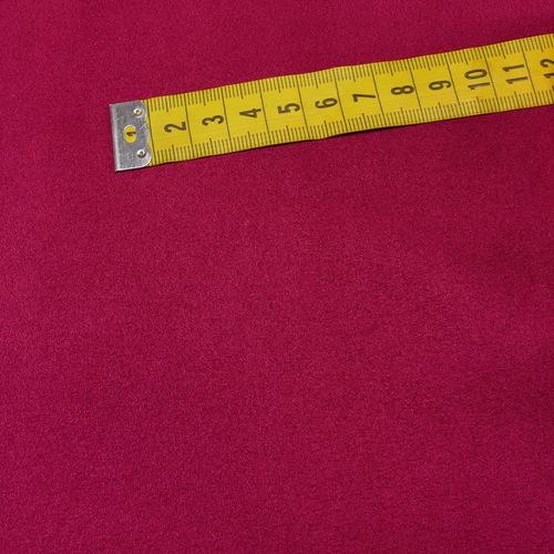 Scuba suédine bi-stretch fuchsia ( 10cm/2.15€)