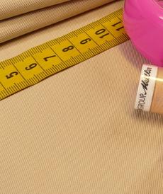 Tissu Viscose Twill beige (10cm/2.15€)