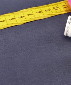 Tissu Viscose Twill marine (10cm/2.15€)