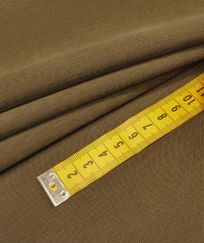 Tissu Viscose Twill kaki (10cm/2.15€)