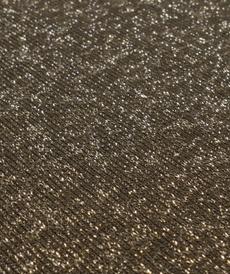 Jersey sweat molletonné lurex noir Oeko-tex 100 (10cm/1.85€)