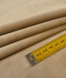 Jersey velours soyeux A la Ville by Bittoun beige ( 10cm/1.3€)