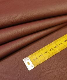 Tissu enduit très extensible bordeaux de Toptex (10cm/2.15€)
