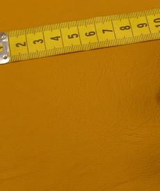 Simili-cuir vestimentaire souple moutarde foncé (10cm/2.15€)