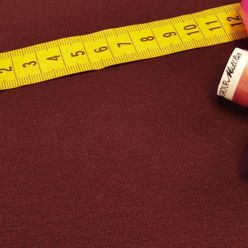 Maille jersey Punta di Roma Prune (10cm/1.5€)