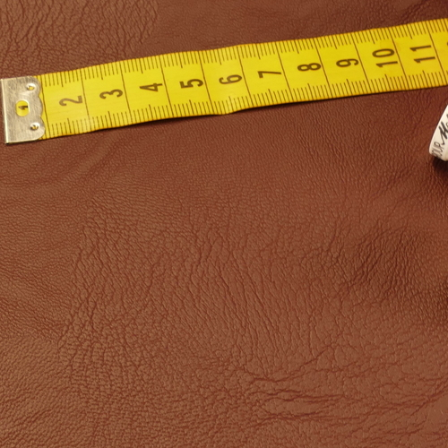 Simili-cuir vestimentaire souple prune (10cm/2.15€)