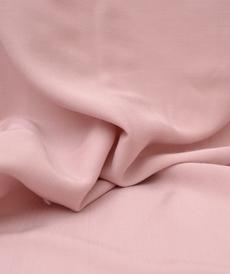 Tissu Viscose soyeuse bois de rose Hilco