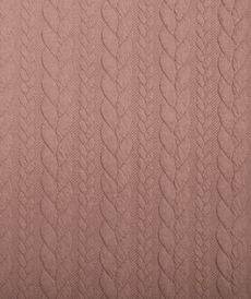 Maille jacquard torsadé nude (10cm/1.25€)