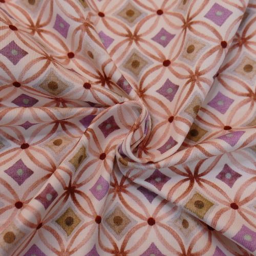 Jersey de coton Retro Rose Hilco