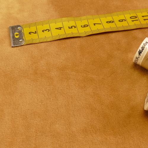 Jersey velours soyeux A la Ville by Bittoun camel ( 10cm/1.3€)