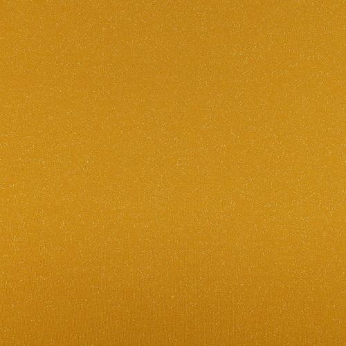 Jersey sweat molletonné lurex ocre Oeko-tex 100 (10cm/1.85€)