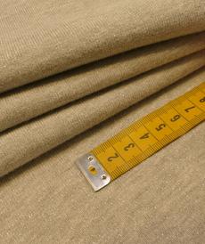 Jersey sweat molletonné lurex gris clair Oeko-tex 100 (10cm/1.85€)