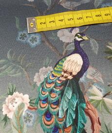 "Jersey de coton ""PAON"" by Stenzo (10cm/1.7€)"