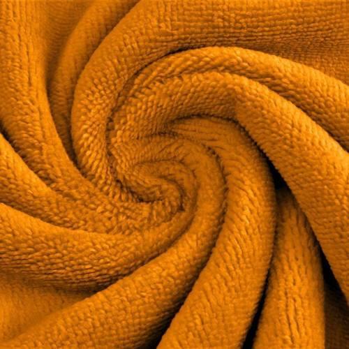 Coupon Eponge de Bambou coton ocre 60 cm