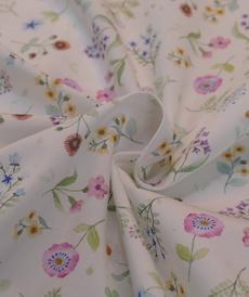 Très beau coton fleuri romantique HILCO (1.8/10cm)