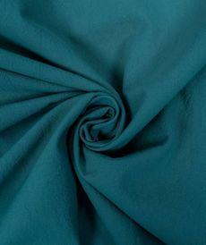 Coton lavé couleur pétrole (0.85€/10cm)