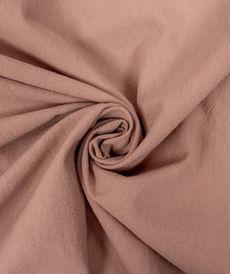 Coton lavé couleur rose poudré (0.85€/10cm)
