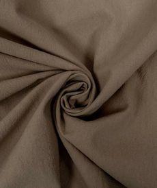 Coton lavé couleur taupe (0.85€/10cm)
