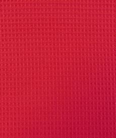 Tissu éponge nid d'abeilles coton fuchsia (1.15€/10cm)