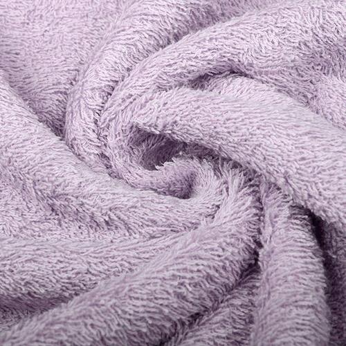Tissu éponge coton lavande
