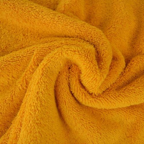 Tissu éponge coton ocre