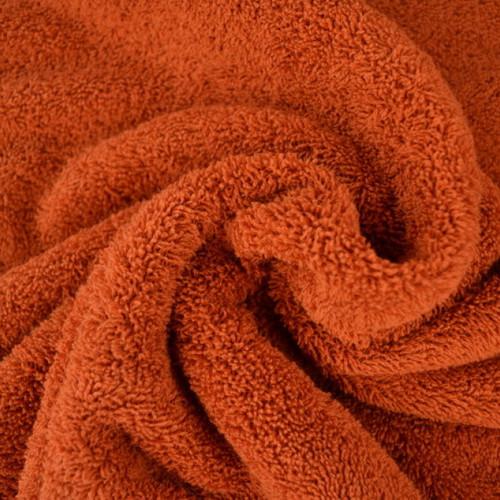 Tissu éponge coton brique
