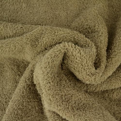 Tissu éponge coton taupe (5.5€/50cm)