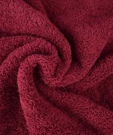 Tissu éponge coton bordeaux ( 5.5€/50cm)