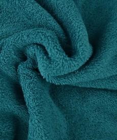 Tissu éponge coton pétrole