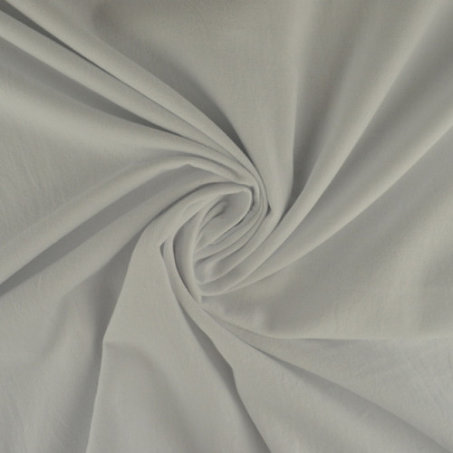 Popeline de coton blanc (0.7€/10cm)